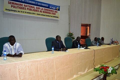 SCADD: 48 heures pour s'accorder sur les propositions et dispositions de mise en cohérence des Politiques publiques