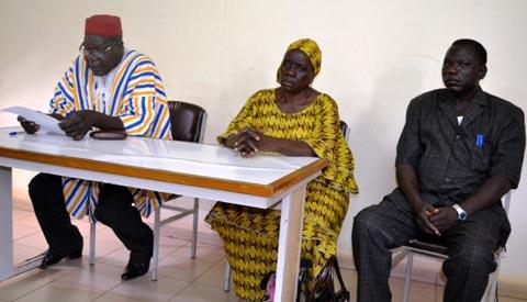 Confédération paysanne du Faso: Les jeunes agriculteurs outillés