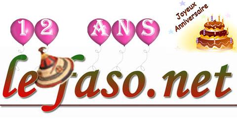Lefaso.net fête ses 12 ans ce 19 octobre 2015