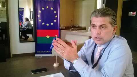 Scrutin couplé: «L'histoire du Burkina a décrété qu'un petit retard était nécessaire …», dixit le  Chef Observateur  Adjoint de la Mission d'Observation électorale de l'UE au Burkina, Tommaso Caprioglio