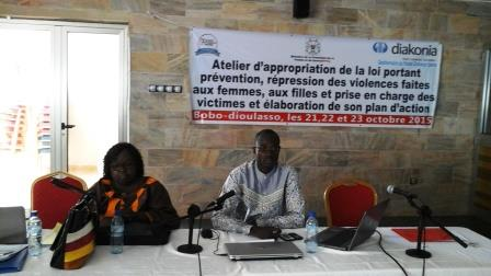 Violences faites aux femmes: Des acteurs s'approprient la loi portant répression  à Bobo