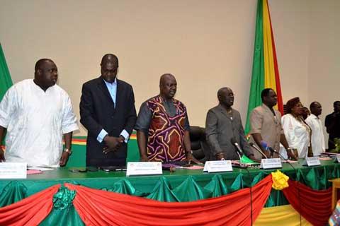 Situation nationale: Le CDP se réorganise pour se relever du putsch du CND