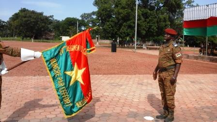 Deuxième région militaire: Jean Charles Somé est le nouveau commandant du 20ème RCAS