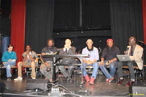 Smockey et de Sams'K Le Jah en tournée européenne: Cinéma et débats avec le Balai Citoyen à Genève
