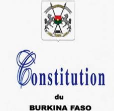 Constitution burkinabè: Quelques retouches le 03 novembre prochain