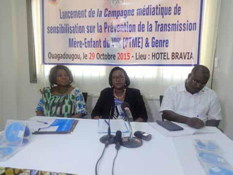 Lutte contre la transmission mère-enfant du VIH et genre: Le SP/CNLS-IST et l'UNICEF s'engagent