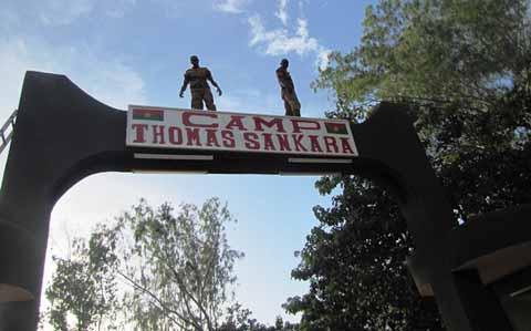 Camp militaire de Pô: C'est désormais Camp Thomas Sankara