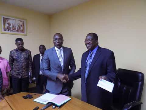 CHU: Le port autonome de Cotonou donne plus de 10 millions pour la réhabilitation d'un espace accompagnants