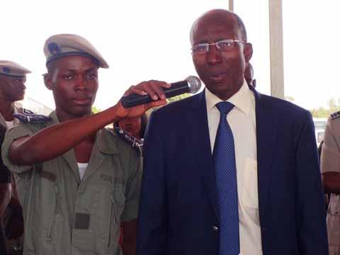 Sécurité intérieure: Le ministre Alain Zagré galvanise ses troupes du camp CRS