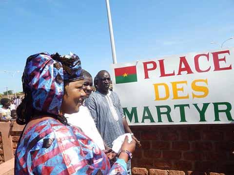 Journée d'hommage aux martyrs: La place de la nation de Dédougou baptisée «Place des martyrs»