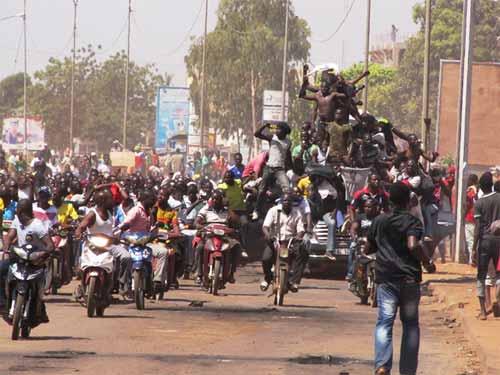An I de l'insurrection populaire: Les dividendes selon les Ouagalais