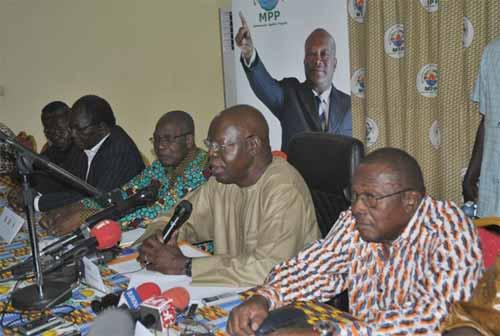Elections du 29 novembre 2015: 17 partis politiques soutiennent Rock Marc Christian Kaboré du MPP