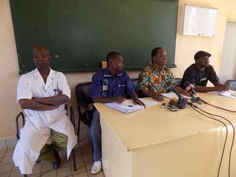 Situation à l'hôpital Yaldogo Ouédraogo: Le Syntsha tire la sonnette d'arme