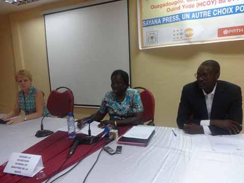 Planification familiale au Burkina Faso: Bilan à mi-parcours de Sayana Press