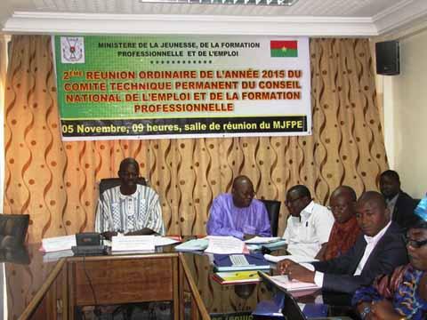 Conseil national de l'emploi et de la formation professionnelle: Le comité Technique s'imprègne  de l'avancée des textes