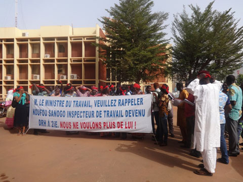 Malaise à 2iE: Le F-SYNTER a remis une doléance au Pr Augustin Loada