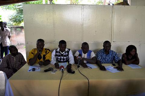 Militaires, policiers et gendarmes radiés de 2011: Ils exhortent les autorités de la transition à les réintégrer