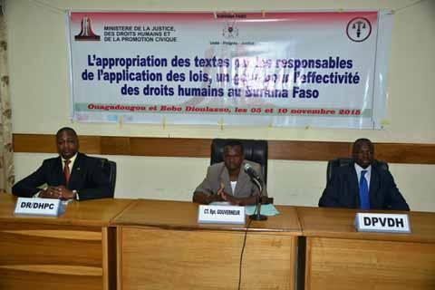 Bobo-Dioulasso: Des acteurs de la justice s'approprient des lois sur la protection des enfants…