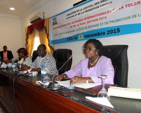 Journées internationales de la paix et de la tolérance: Une célébration sur fond d'exhortation à Léo