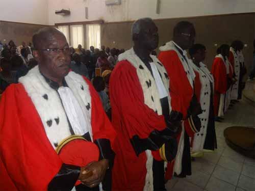 Conseil d'Etat: Deux présidents de chambre et six conseillers ont été installés