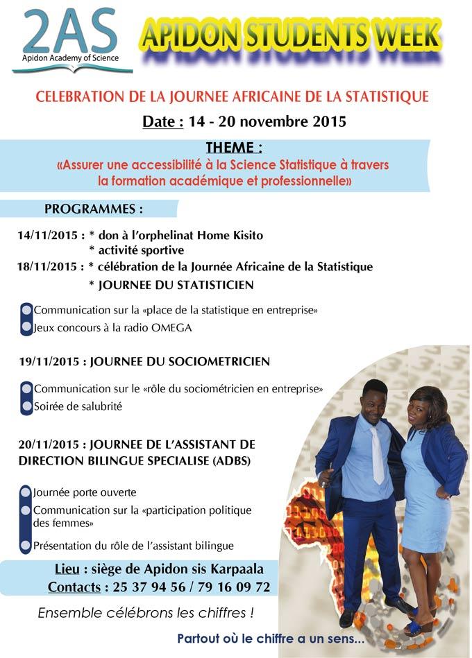 Célébration de la Journée Africaine de la Statistique