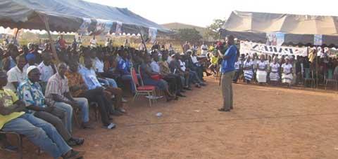 Elections du 29 novembre: Le PAREN promet s'attaquer en priorité à la maîtrise de l'eau