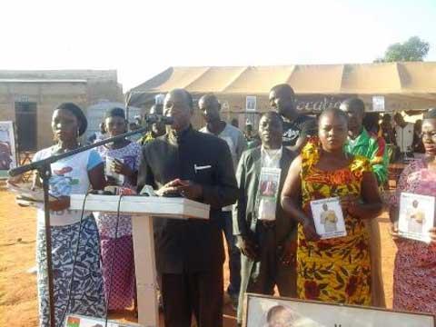 Ram Ouédraogo à Bobo Dioulasso: «Les autres candidats sont des apprentis chercheurs de pouvoir»