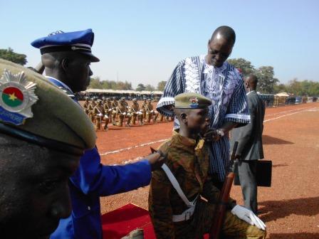 Bobo-Dioulasso: La 41ème promotion des sous-officiers de gendarmerie  prêts à servir la Nation