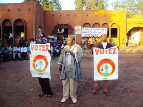Elections législatives 2015: Le CDP promet un  «Touk Guili» au Yatenga