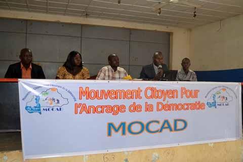 Organisations de la société civile: Des dissidents du CAR créent le MOCAD