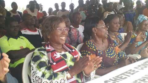 Présidentielle 2015: Françoise Toé était dans le quartier Zongo de Ouagadougou