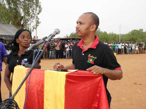 Koudougou: Tahirou Barry promet de réhabiliter Faso Fani s'il est élu président