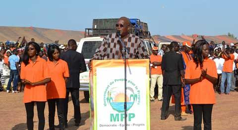 Arrondissement n°3 de Ouagadougou: Roch Marc Christian Kaboré parle de son projet de société aux populations