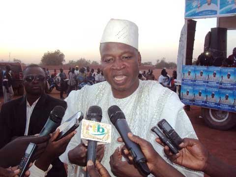 Présidentielle 2015: Le candidat Boukaré Ouédraogo a présenté ses «solutions pour résorber le chômage des jeunes au Burkina Faso» aux Ouahigouyalais