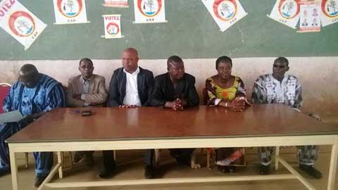 Législatives 2015: Le CDP sûr de rafler les deux sièges de l'Oubritenga