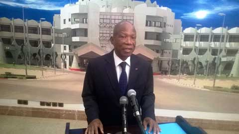 Présidence du Faso: Le secrétaire exécutif du Conseil de l'Entente chez Michel Kafando