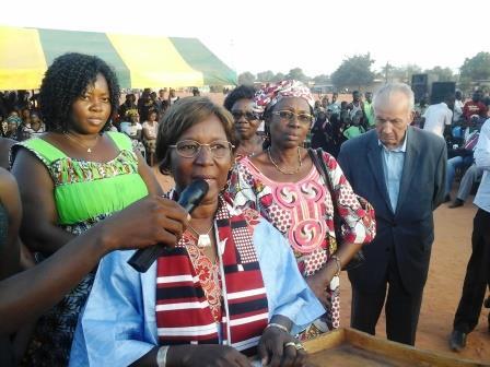 Présidentielle 2015: Françoise Toé promet des investisseurs à Bobo-Dioulasso