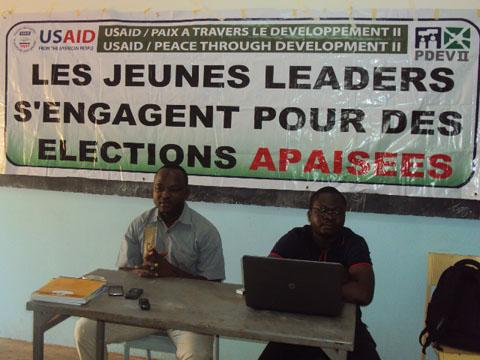 Observation citoyenne des élections au Nord: Le PDEVII donne les rudiments à 38 jeunes