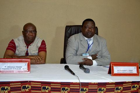 Observation des élections 2015: Le comité interparlementaire de l'UEMOA est présent au Burkina Faso
