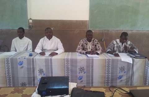 Dédougou: Des observateurs et des superviseurs de l'Eglise catholique se forment pour des élections réussies