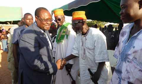 Présidentielle 2015: Ablassé Ouédraogo chez les siens