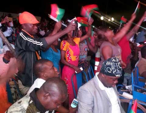 Résultat de la présidentielle 2015: C'était la fête au QG du MPP