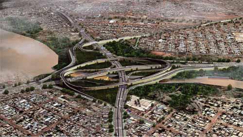Infrastructures routières à Ouagadougou: Le premier ministre lance les travaux de l'Echangeur du Nord