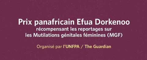 Mutilations génitales féminines en Afrique: Le Prix panafricain Efua Dorkenoo est lancé
