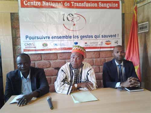 Koudougou: Le Centre National de Transfusion Sanguine (CNTS) et les Associations des donneurs de sang demandent le soutien des chefs traditionnels