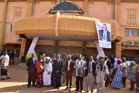 Ouagadougou: Le Stade municipal désormais Stade Dr Issoufou Joseph Conombo