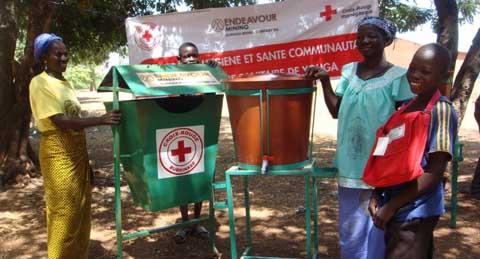 La croix-rouge burkinabè fait la promotion de l'hygiène et de l'assainissement dans l'aire sanitaire de Youga