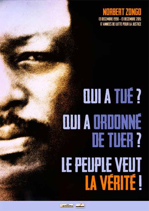 17e anniversaire du drame de Sapouy: L'AJB rend hommage à Norbert Zongo et à ses compagnons