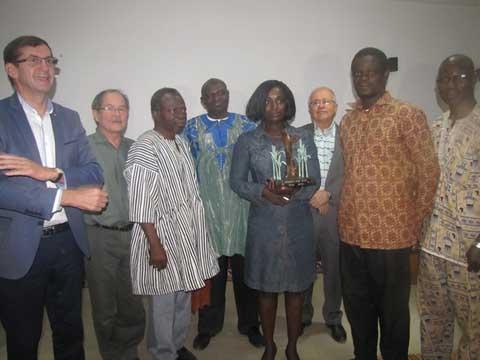 Festival «Mils d'or» de Ouagadougou: Madeleine Wayack Pambé sacrée lauréate 2015