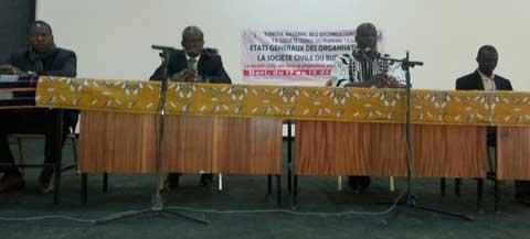 Etats généraux des organisations de la société civile: Trois jours «d'autocritique» pour consolider les acquis